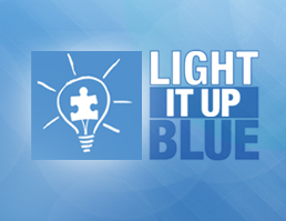Light It Up Blue For World Autism Awareness Day